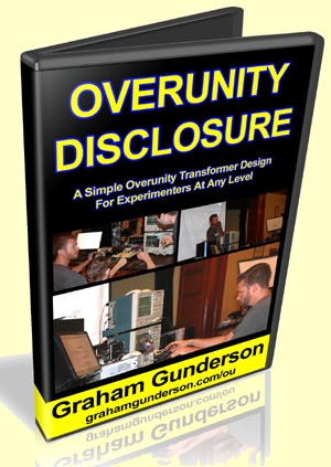 Overunity Disclosure & Floyd Sweet's VTA by Graham Gunderson